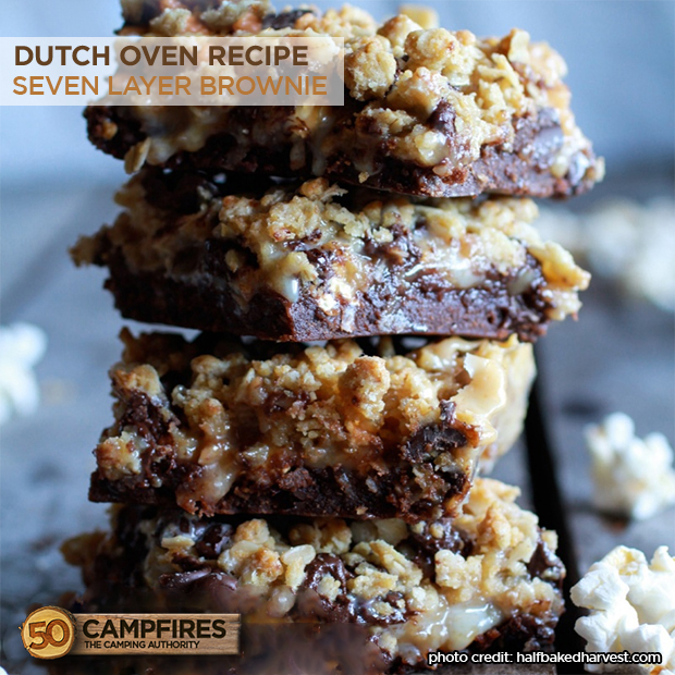 Dutch Oven Seven Layer Brownie Keeprecipes Your