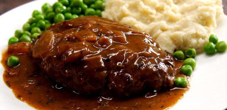 Easy Salisbury Steak Recipe Keeprecipes Your Universal Recipe Box