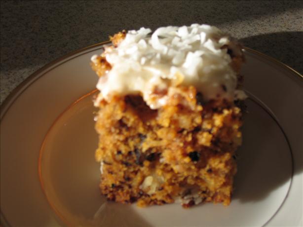 Baby Food Pineapple Coconut Carrot Cake Recipe