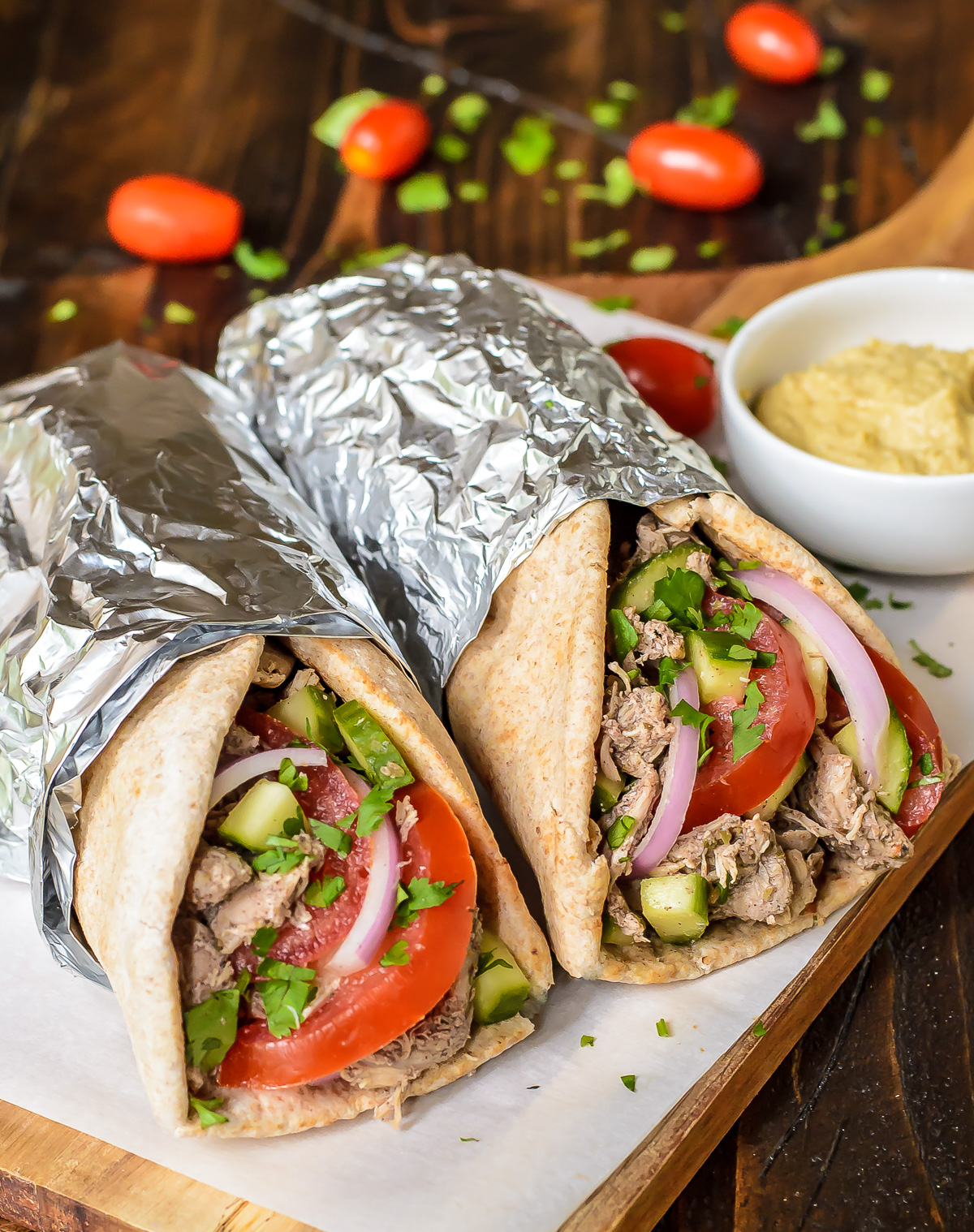 Slow Cooker Yogurt Chicken Shawarma   KeepRecipes: Your Universal ...