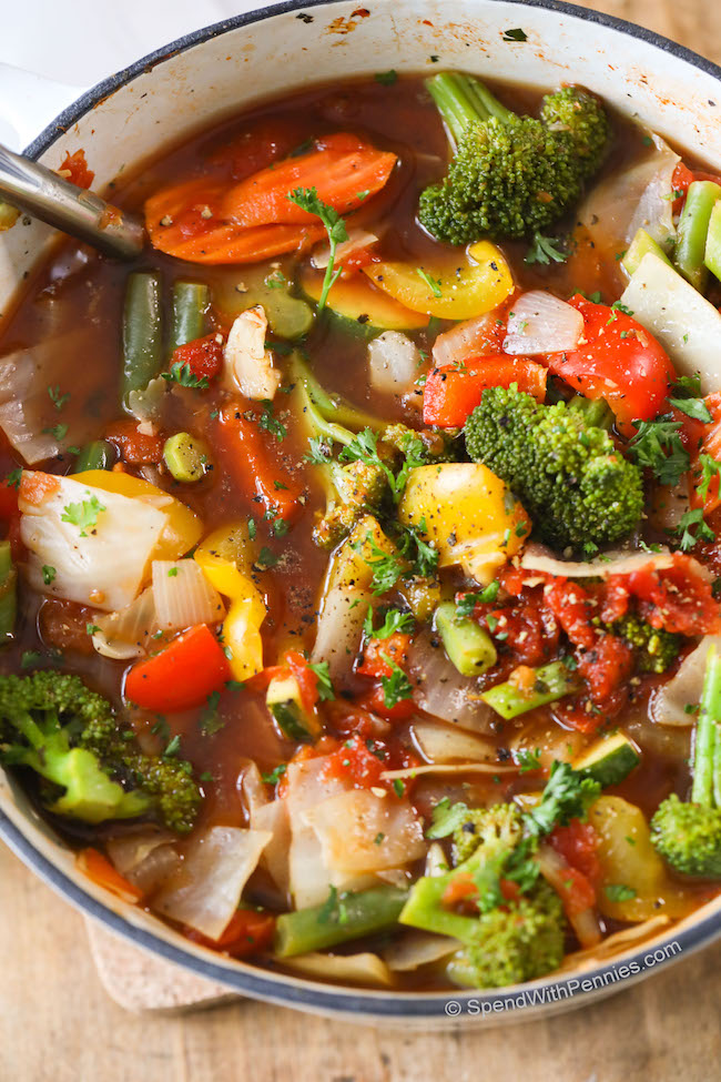 Weight Loss Vegetable Soup Recipe | KeepRecipes: Your ...