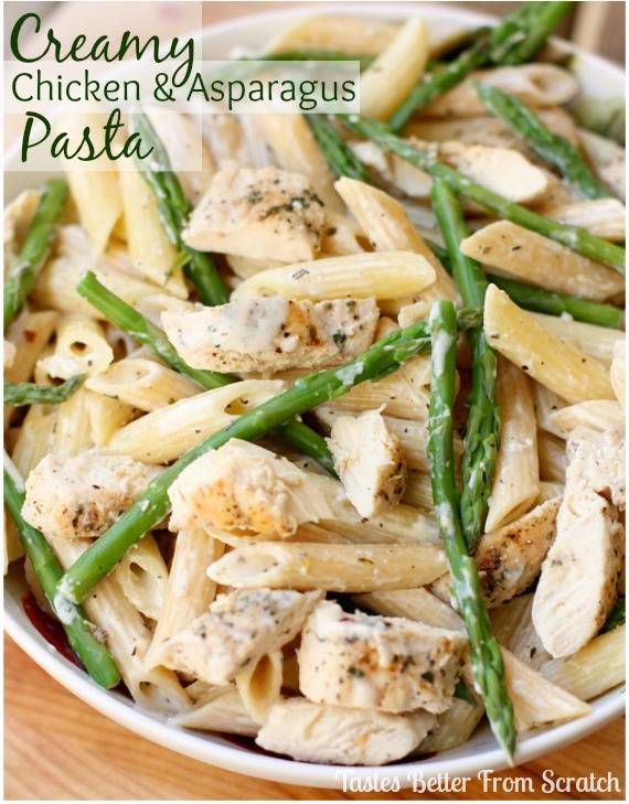 recipe: asparagus chicken pasta [17]