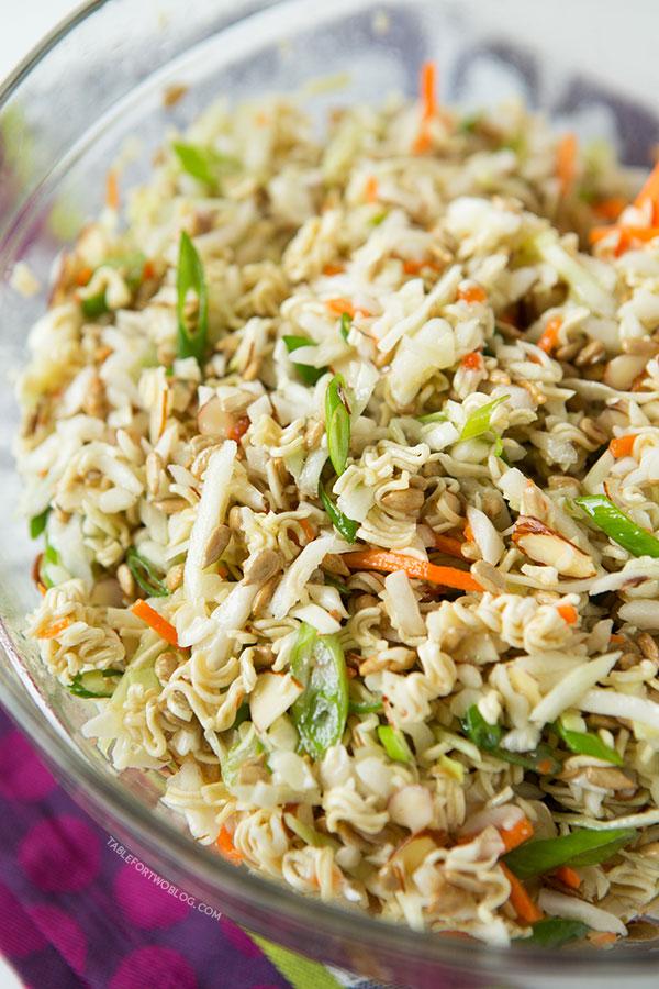 Ridiculously Amazing Asian Ramen Salad Keeprecipes Your Universal Recipe Box