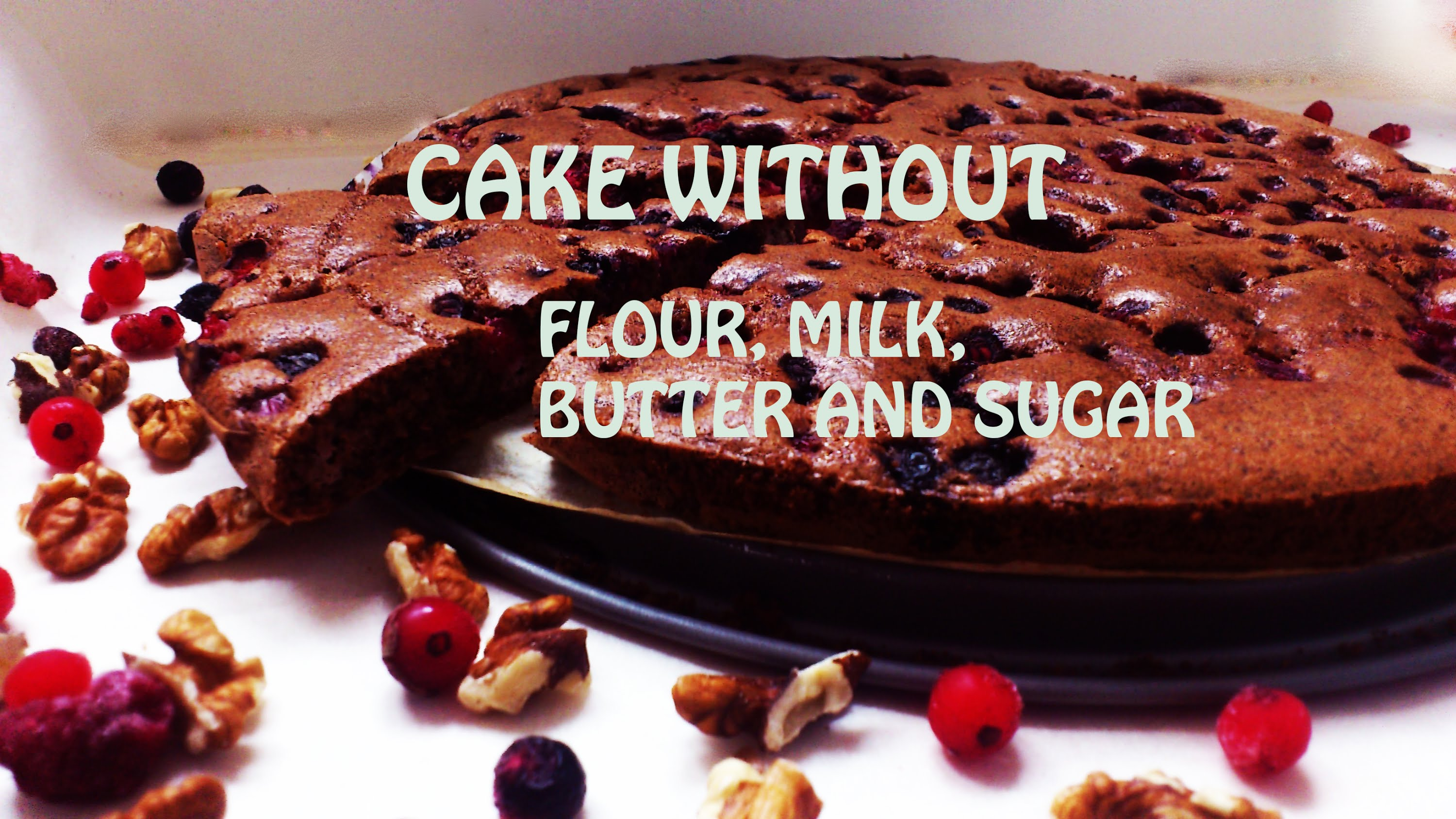 HEALTHY CAKE without flourbutter milk and sugar KeepRecipes