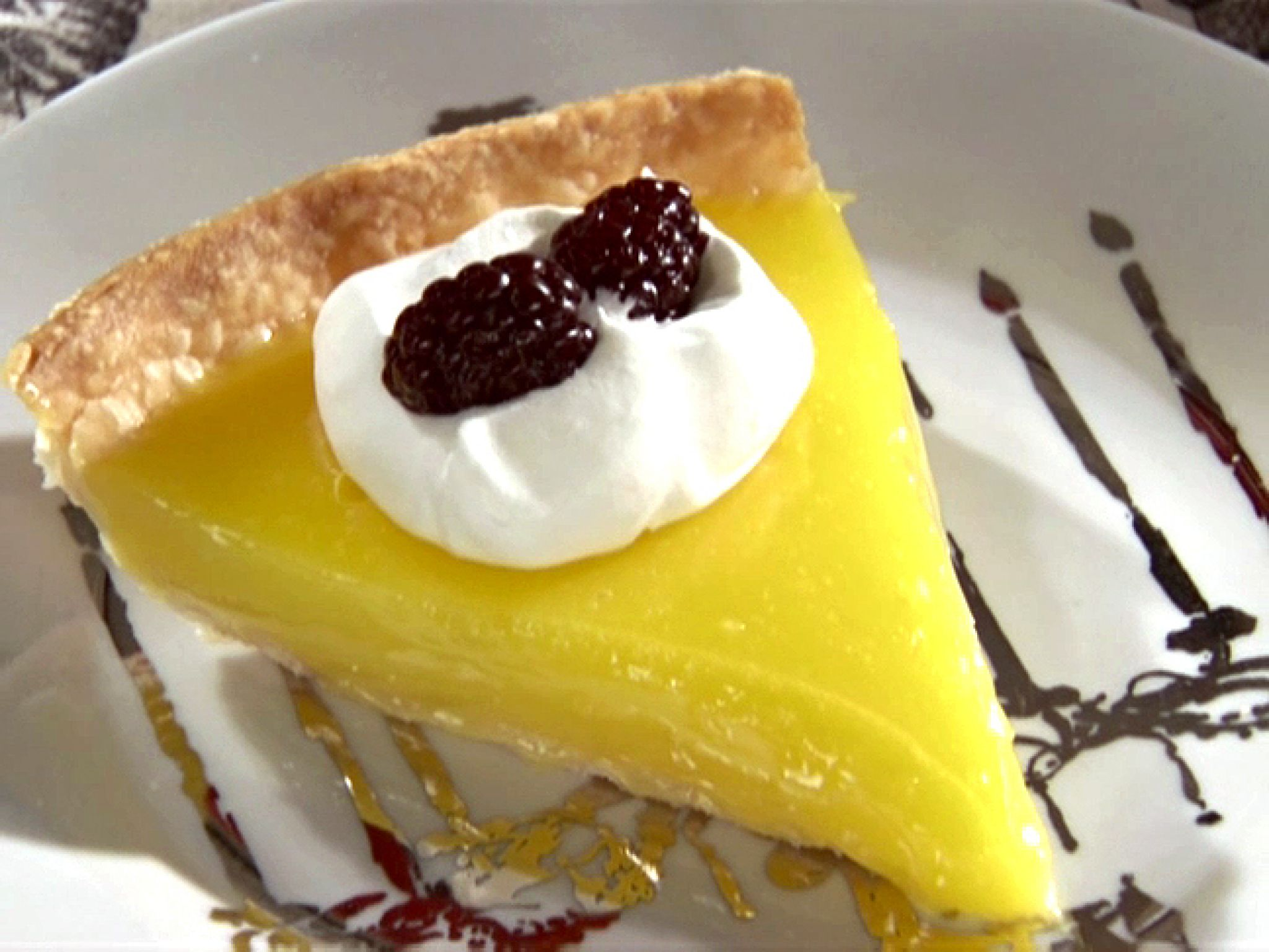 Triple Lemon Pie Keeprecipes Your Universal Recipe Box