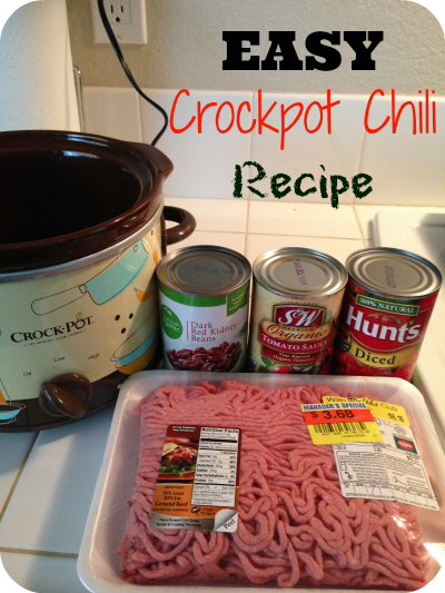 5 Ingredient Crockpot Chili Recipe The Typical Mom Keeprecipes Your Universal Recipe Box