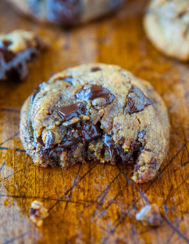 Flourless Peanut Butter Chocolate Chunk Cookies Keeprecipes Your
