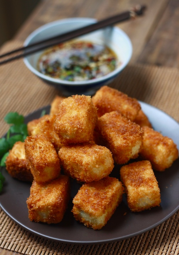 how to cook soya bean curd strips