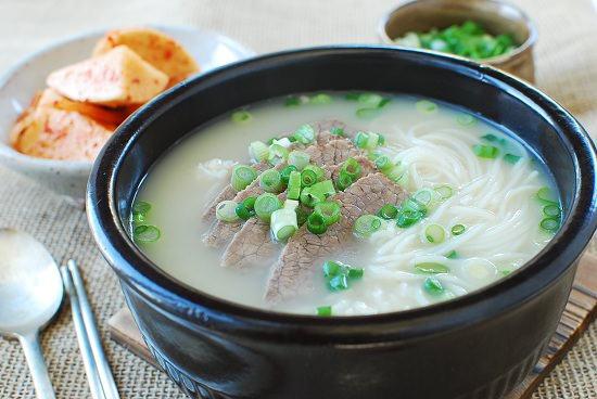 Seolleongtang Beef Bone Soup Keeprecipes Your Universal Recipe Box