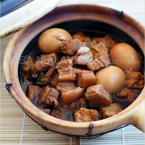 Braised Pork Belly In Soy Sauce Tau Yew Bak Keeprecipes Your Universal Recipe Box