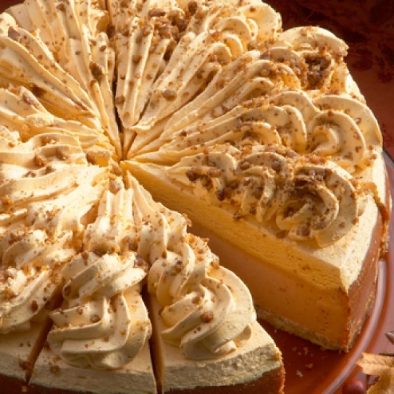 No Bake Pumpkin Cheesecake With Pumpkin Creamcheese