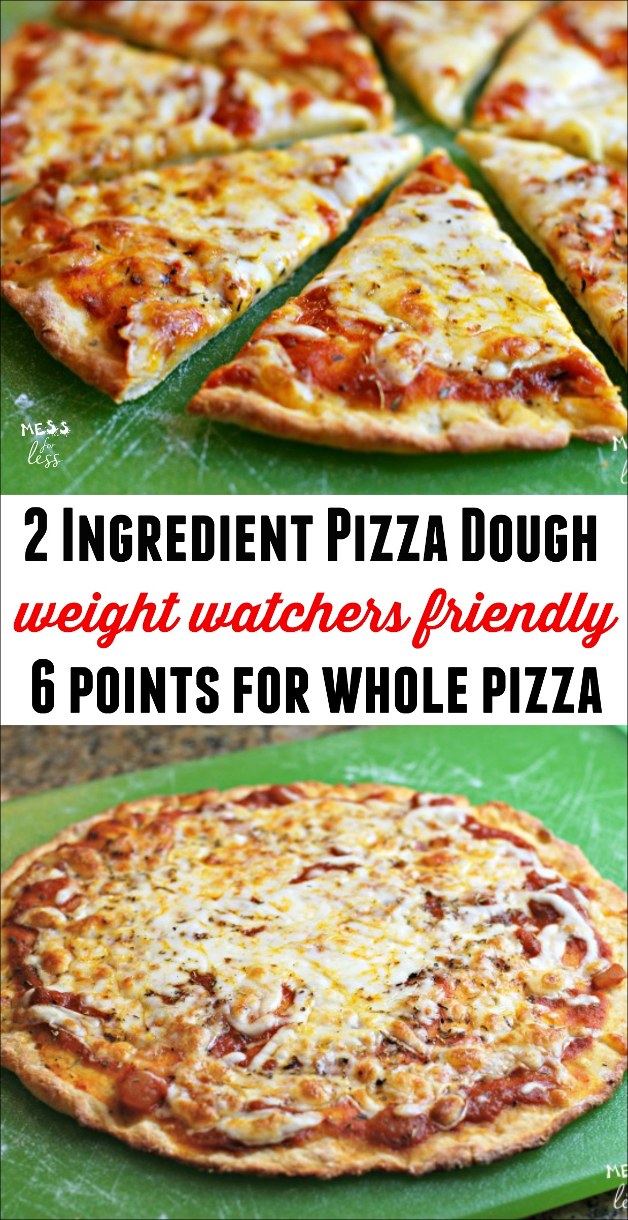 2 Ingredient Pizza Dough Keeprecipes Your Universal
