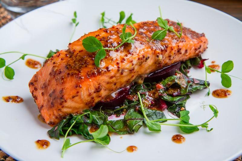 Maple Miso Dijon Salmon Keeprecipes Your Universal