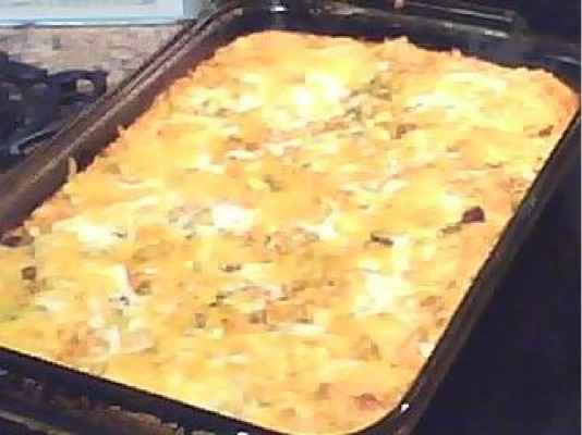 Low Fat Low Carb Chicken Chili Relleno Casserole