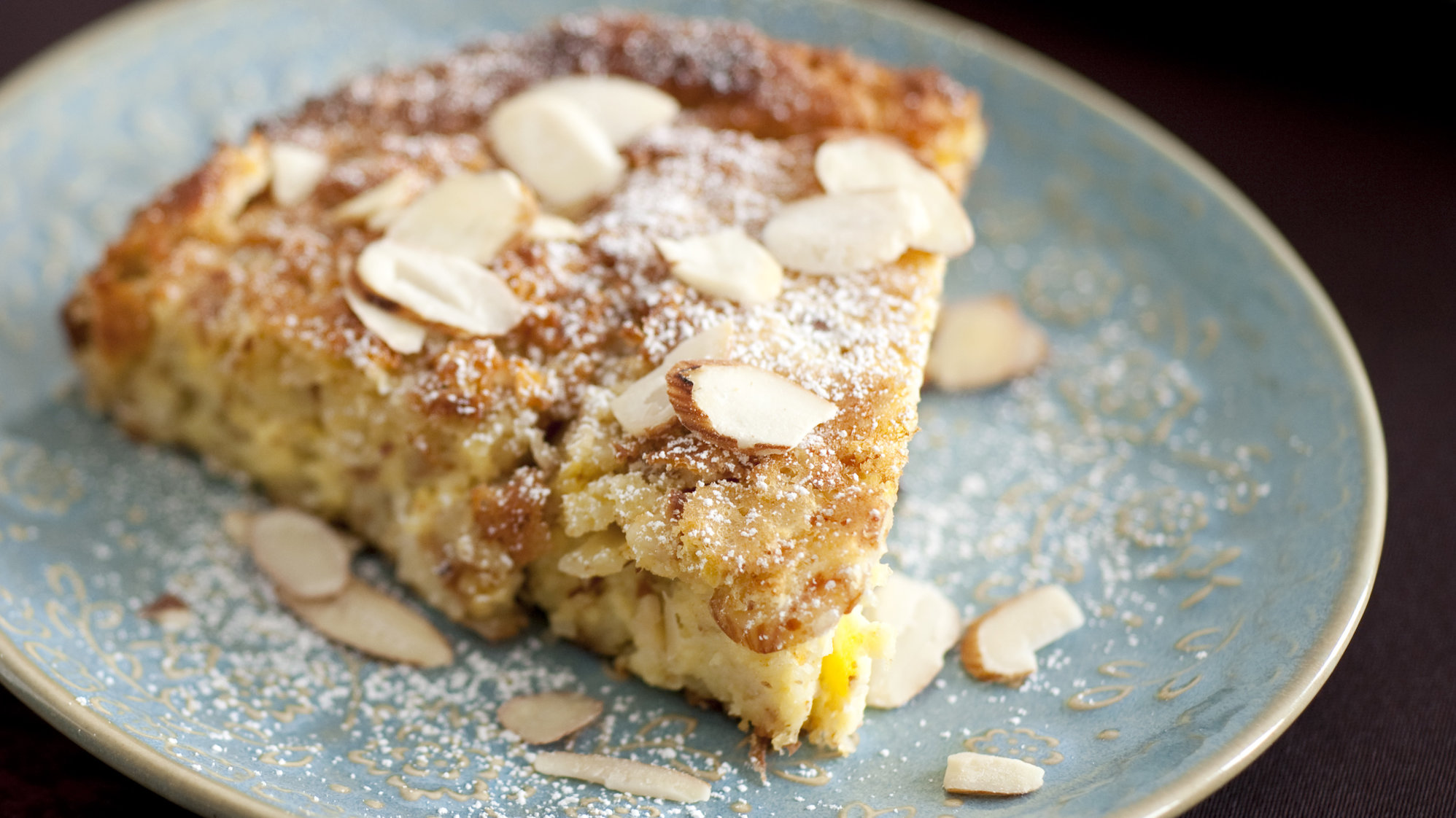 Pan Baked Lemon Almond Tart Recipe Keeprecipes Your