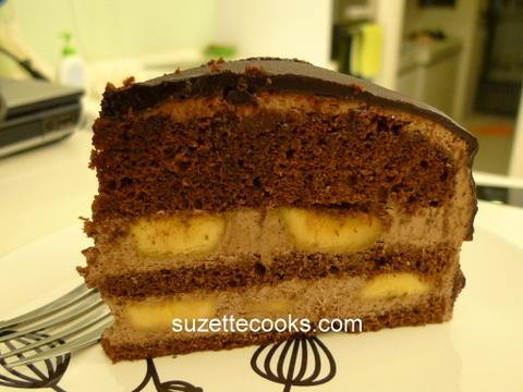 Chocolate Banana Cake ...