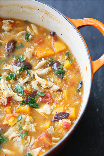 Cookin Canuck Hearty Chicken Stew With Butternut Squash Amp Quinoa Recipe Keeprecipes Your