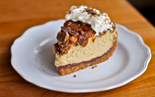 Caramel Toffee Crunch Cheesecake   KeepRecipes: Your Universal Recipe ...