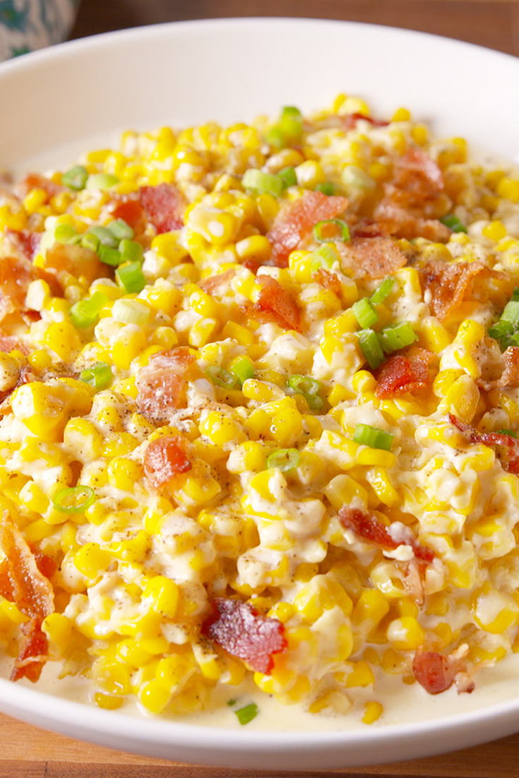 Best Slow Cooker Creamed Corn Recipe How To Make Slow Cooker Creamed Corn 226 Delish Com
