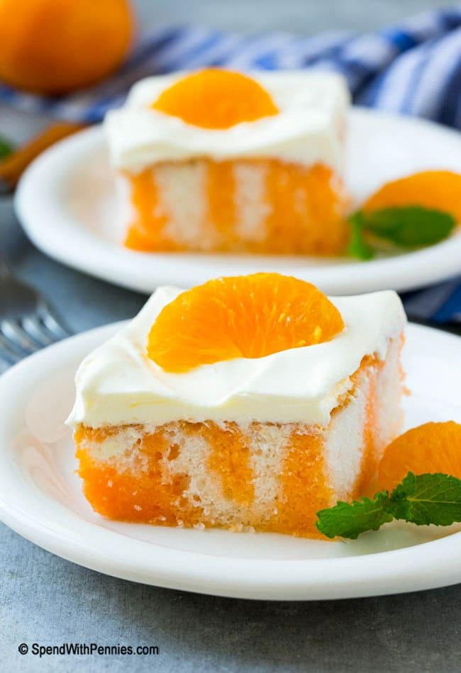 Creamsicle Orange Poke Cake Keeprecipes Your Universal Recipe Box