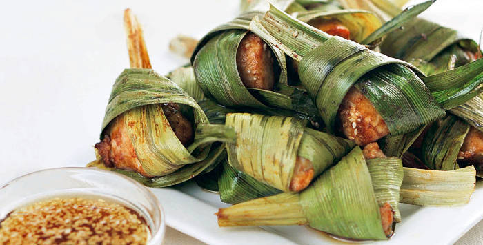 Chicken in Pandan Leaves | KeepRecipes: Your Universal Recipe Box
