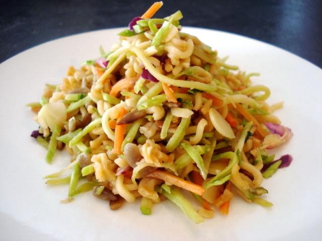 Asian Style Slaw Recipe Dave Lieberman Food Network