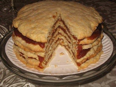 Apple Cake Recipe Box
