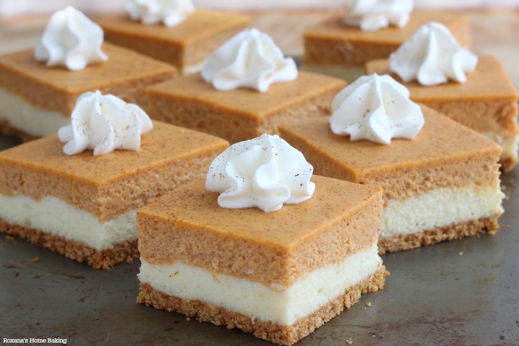 Pumpkin Cheesecake Bars Recipe Keeprecipes Your Universal Recipe Box