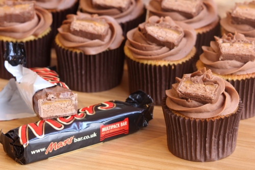 Mars Bar Cupcakes Keeprecipes Your Universal Recipe Box