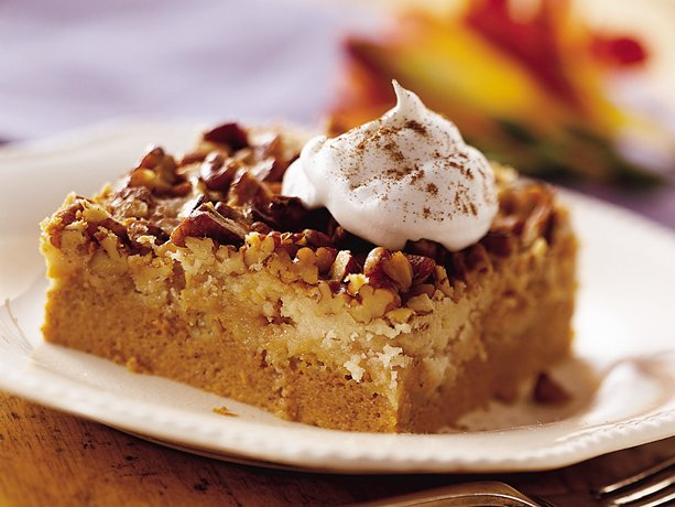 Praline Pumpkin Dessert Recipe from Betty Crocker | KeepRecipes: Your Universal Recipe Box