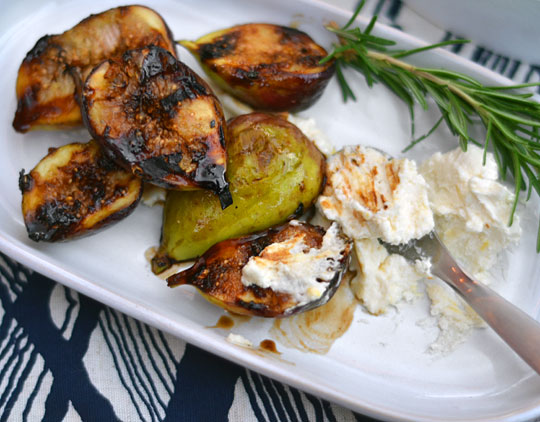 Grilled Figs with Honeyed Mascarpone | KeepRecipes: Your Universal ...