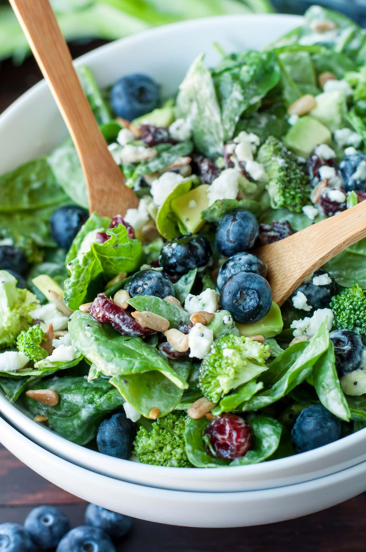 Broccoli Recipes Salad Sunflower Seeds