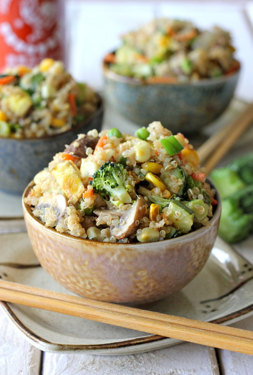 Quinoa veggie fried rice keeprecipes your universal recipe box forumfinder Gallery