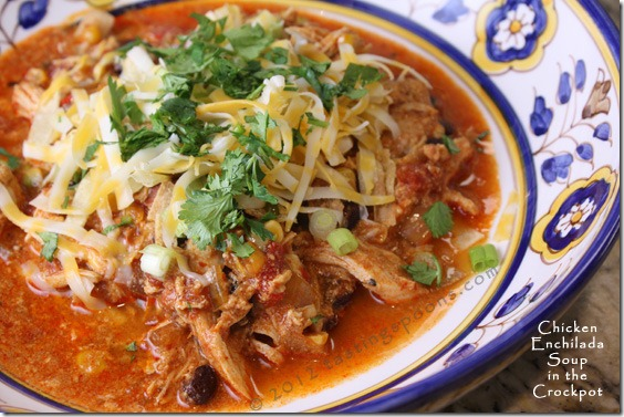 Crockpot Chicken Enchilada Soup | KeepRecipes: Your Universal Recipe ...