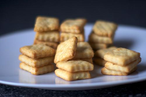 Parmesan Cream Crackers | KeepRecipes: Your Universal Recipe Box