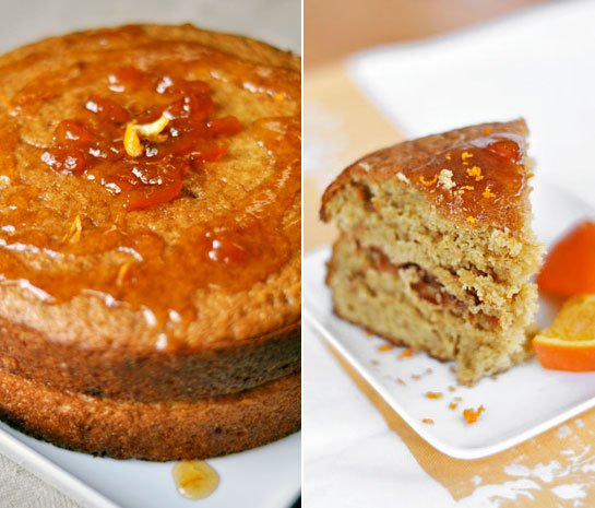 Vegan Sticky Orange Cake with Marmalade Glaze | KeepRecipes: Your ...