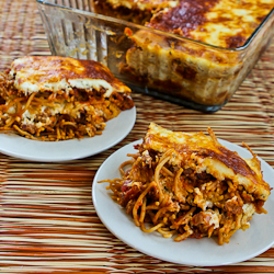 Recipe for Baked Whole Wheat Spaghetti Casserole with Turkey Italian ...