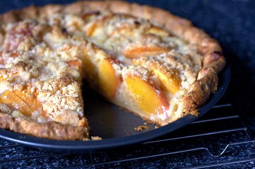 peach and crème fraîche pie | KeepRecipes: Your Universal Recipe Box