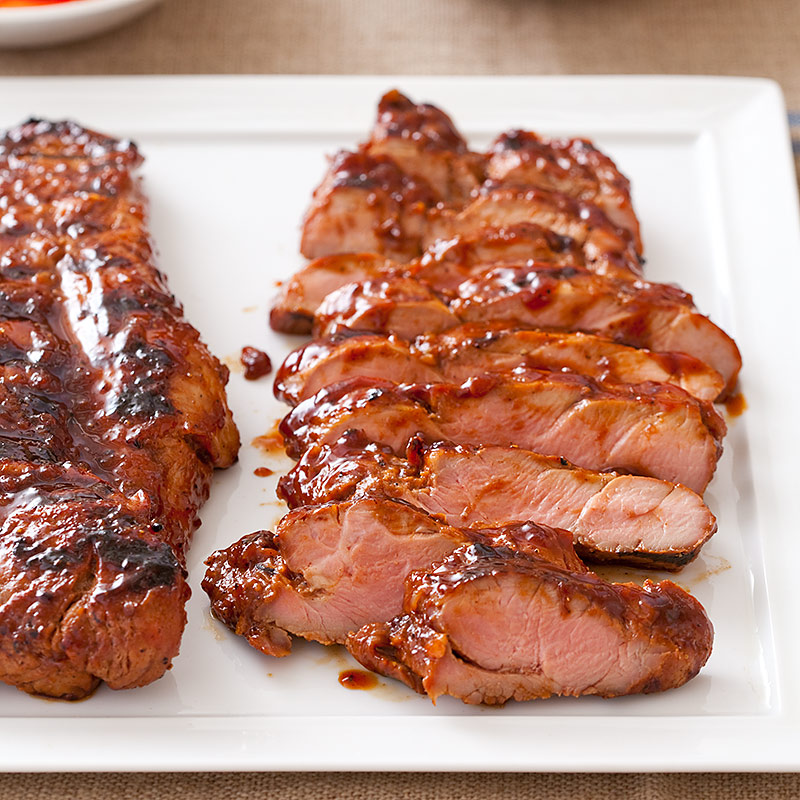 Chinese-Style Glazed Pork Tenderloin Recipe