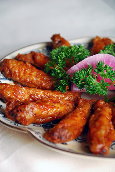 Sticky Chinese Fried Chicken Wings Keeprecipes Your Universal Recipe Box