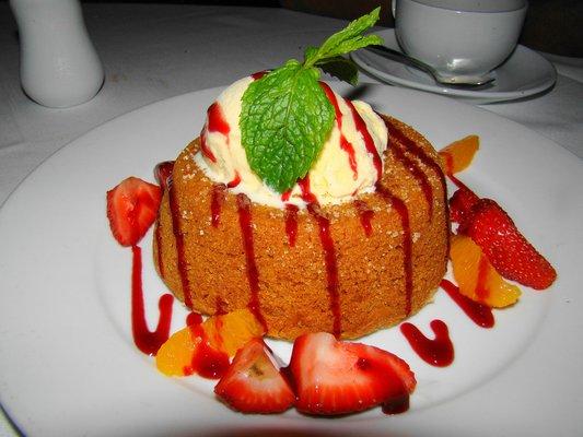 Warm butter cake recipe