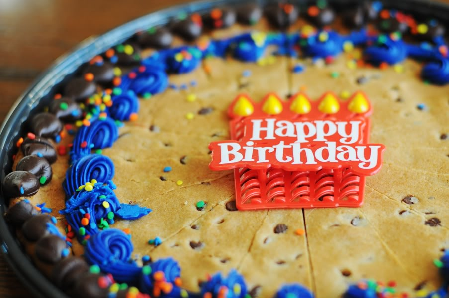 Swell Giant Chocolate Chip Cookie Cake Keeprecipes Your Universal Personalised Birthday Cards Cominlily Jamesorg