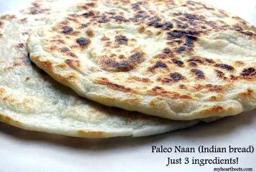 3 Ingredient Paleo Naan (Indian bread)  KeepRecipes: Your Universal Recipe Box