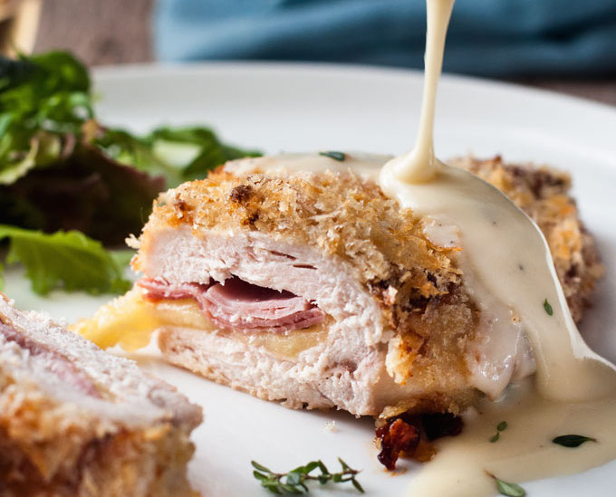 Chicken Cordon Bleu Easy Fancy Keeprecipes Your Universal Recipe Box