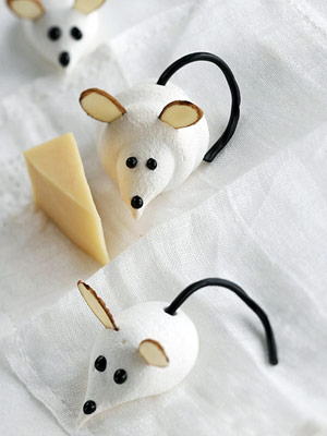 Cute L Il Meringue Mice Keeprecipes Your Universal