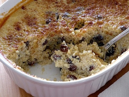 Chocolate Bread Pudding Images