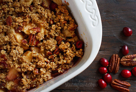 Apple Cranberry Crumble Skinnytaste Keeprecipes Your Universal