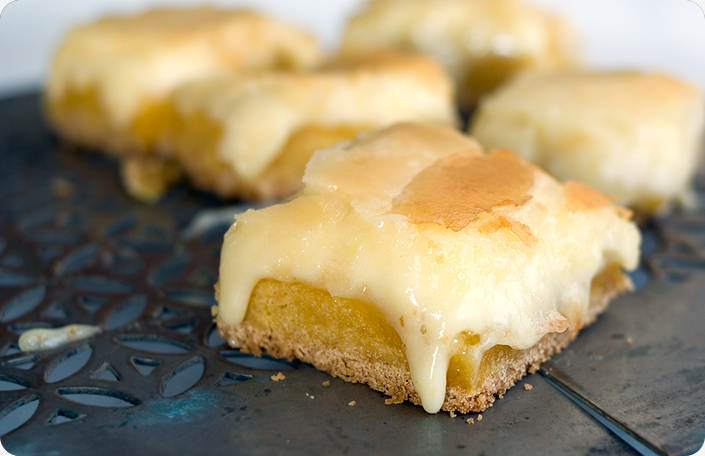 White Chocolate Raspberry Gooey Butter Cake Recipe