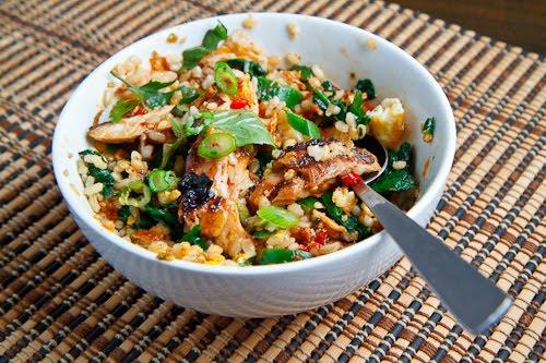 Sweet Chili Chicken Rice Bowl Keeprecipes Your Universal Recipe Box