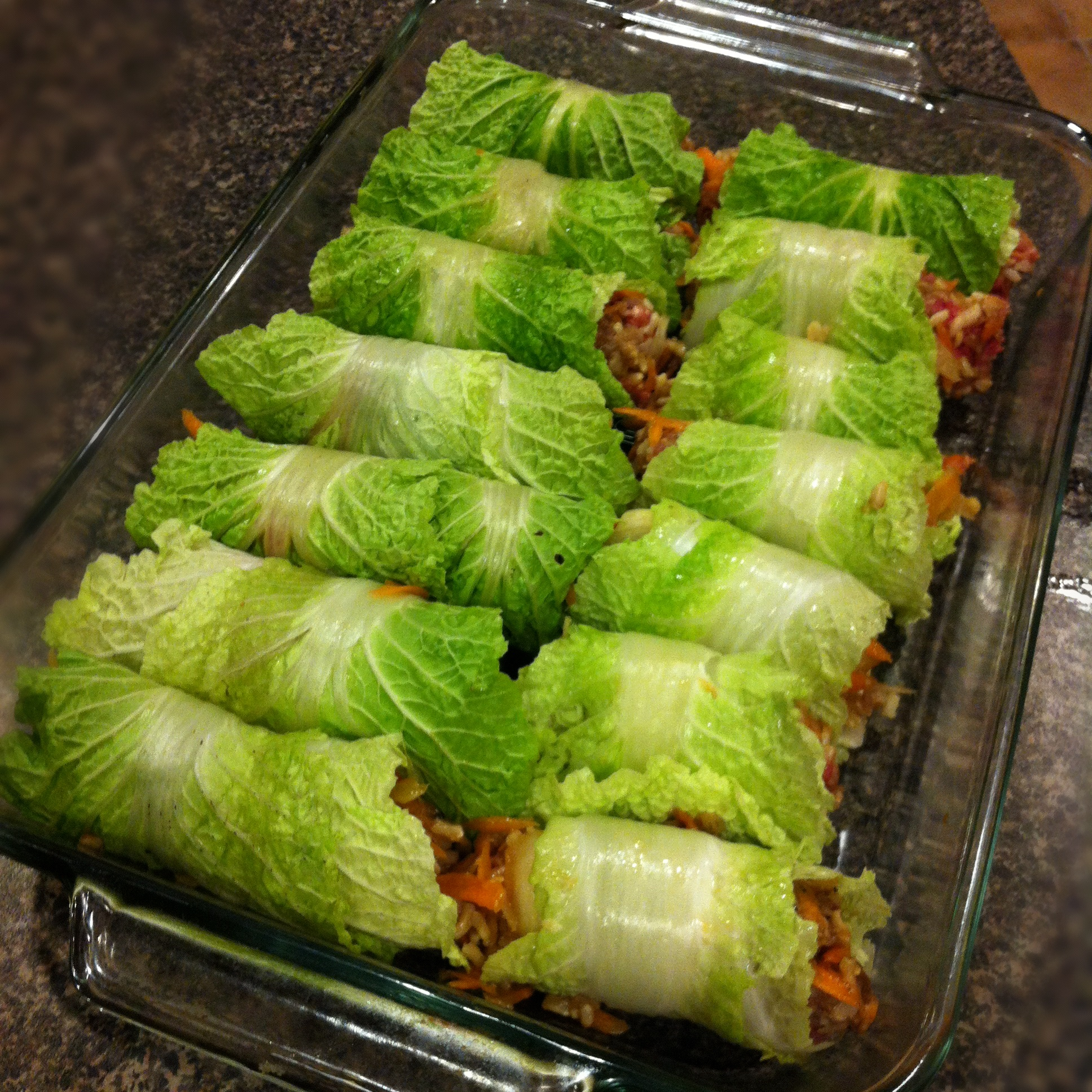 Asian Stuffed Napa Cabbage Rolls Keeprecipes Your